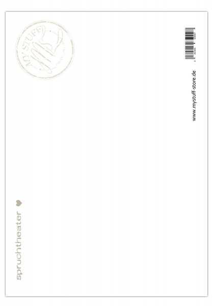 postkarte wenn dich dein leben nervt streu glitzer drauf 10 5 x 14 8 cm grusskartenwerk. Black Bedroom Furniture Sets. Home Design Ideas