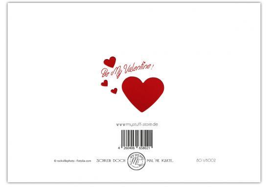 Karte Zum Valentinstag Ich Liebe Dich Grusskartenwerk