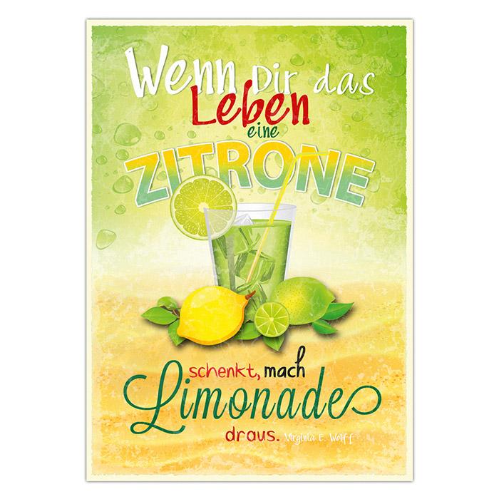 Dir spruch zitronen leben schenkt das EINFACH Zitronen