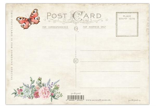 "Postkarte "" Vintage Romantic Card No. 4"" 10,5 x 14,8 cm"